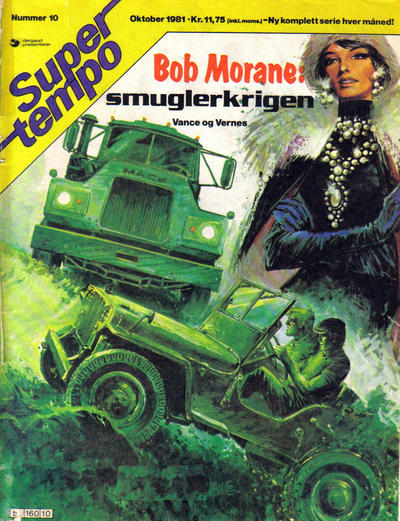 Cover for Supertempo (Hjemmet / Egmont, 1979 series) #10/1981