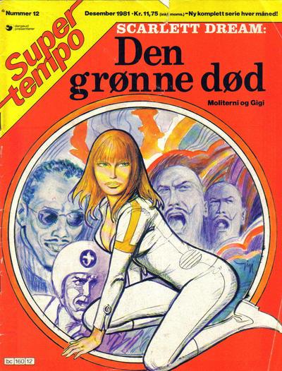 Cover for Supertempo (Hjemmet / Egmont, 1979 series) #12/1981