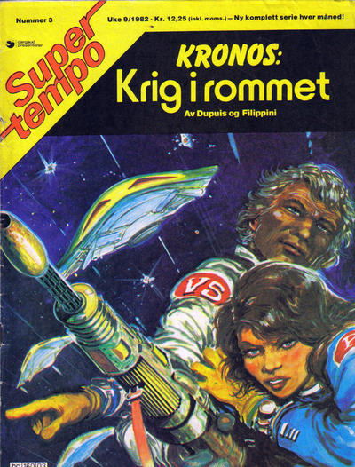 Cover for Supertempo (Hjemmet / Egmont, 1979 series) #3/1982