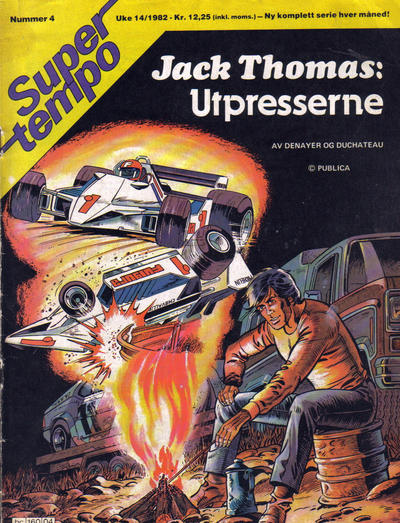 Cover for Supertempo (Hjemmet / Egmont, 1979 series) #4/1982