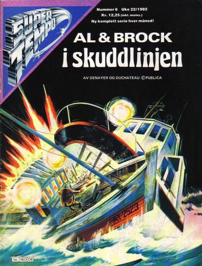 Cover for Supertempo (Hjemmet / Egmont, 1979 series) #6/1982