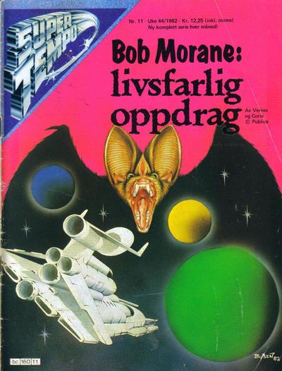 Cover for Supertempo (Hjemmet / Egmont, 1979 series) #11/1982