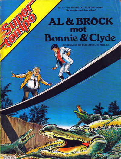 Cover for Supertempo (Hjemmet / Egmont, 1979 series) #12/1982