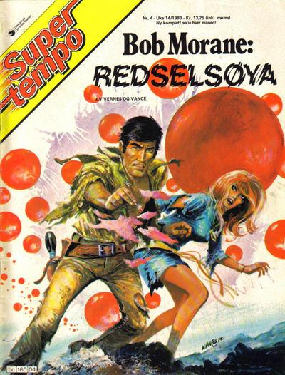 Cover for Supertempo (Hjemmet / Egmont, 1979 series) #4/1983