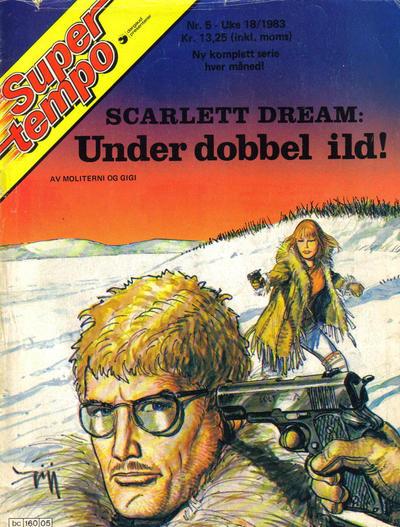 Cover for Supertempo (Hjemmet / Egmont, 1979 series) #5/1983