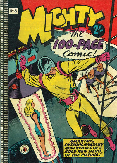 Cover for Mighty The 100-Page Comic! (K. G. Murray, 1957 series) #8