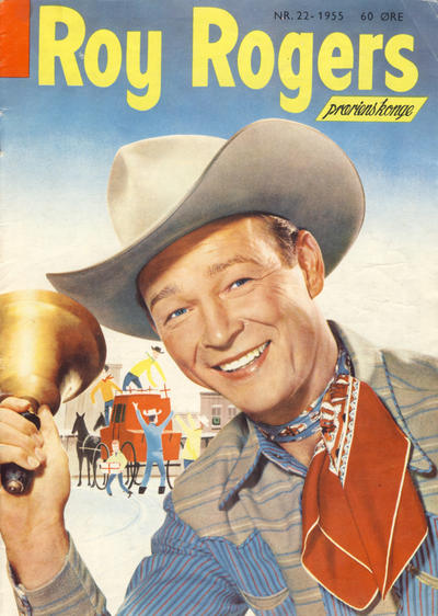Cover for Roy Rogers (Serieforlaget / Se-Bladene / Stabenfeldt, 1954 series) #22/1955