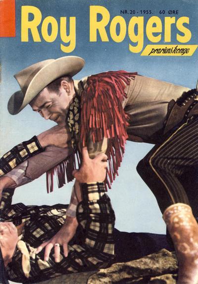 Cover for Roy Rogers (Serieforlaget / Se-Bladene / Stabenfeldt, 1954 series) #20/1955