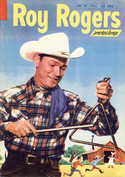 Cover for Roy Rogers (Serieforlaget / Se-Bladene / Stabenfeldt, 1954 series) #19/1955
