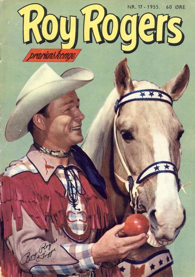 Cover for Roy Rogers (Serieforlaget / Se-Bladene / Stabenfeldt, 1954 series) #17/1955
