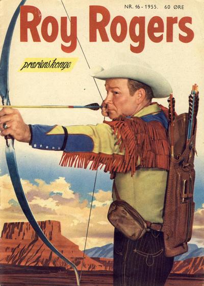 Cover for Roy Rogers (Serieforlaget / Se-Bladene / Stabenfeldt, 1954 series) #16/1955