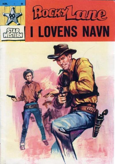 Cover for Star Western (Illustrerte Klassikere / Williams Forlag, 1964 series) #3