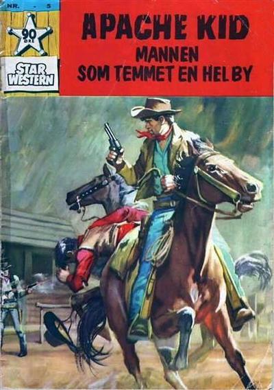 Cover for Star Western (Illustrerte Klassikere / Williams Forlag, 1964 series) #5