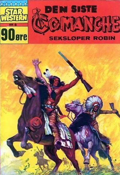 Cover for Star Western (Illustrerte Klassikere / Williams Forlag, 1964 series) #8