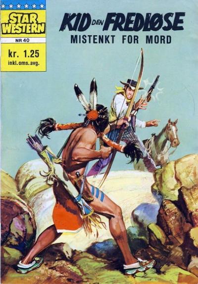 Cover for Star Western (Illustrerte Klassikere / Williams Forlag, 1964 series) #40