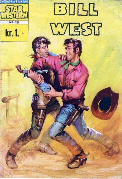 Cover for Star Western (Illustrerte Klassikere / Williams Forlag, 1964 series) #18