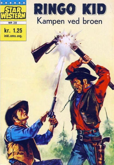 Cover for Star Western (Illustrerte Klassikere / Williams Forlag, 1964 series) #38