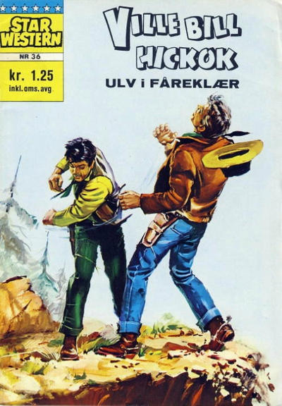Cover for Star Western (Illustrerte Klassikere / Williams Forlag, 1964 series) #36