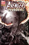 Cover for Avengers/Invaders (Marvel, 2008 series) #9 [Ross B & W]