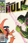 Cover for The Incredible Hulk (Marvel, 1968 series) #299 [Newsstand]