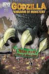 Cover Thumbnail for Godzilla: Kingdom of Monsters (2011 series) #1 [Zombie Planet Cover]