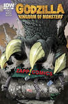 Cover for Godzilla: Kingdom of Monsters (IDW, 2011 series) #1 [Zapp Comics Cover]