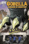 Cover Thumbnail for Godzilla: Kingdom of Monsters (2011 series) #1 [Toy Traders Cover]