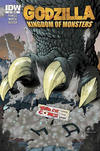 Cover for Godzilla: Kingdom of Monsters (IDW, 2011 series) #1 [Third Eye Comics Cover]