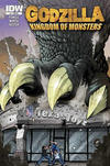 Cover Thumbnail for Godzilla: Kingdom of Monsters (2011 series) #1 [Texas Toyz Cover]