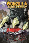 Cover for Godzilla: Kingdom of Monsters (IDW, 2011 series) #1 [Terminal Entertainment Cover]