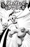 Cover Thumbnail for Fantastic Four (1998 series) #570 [Black-and-White Variant Edition]