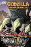 Cover for Godzilla: Kingdom of Monsters (IDW, 2011 series) #1 [Tate's Comics Cover]