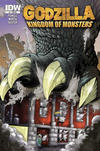 Cover for Godzilla: Kingdom of Monsters (IDW, 2011 series) #1 [Strange Adventures Comic Book Shop (Halifax) Cover]