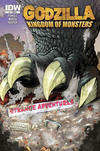 Cover for Godzilla: Kingdom of Monsters (IDW, 2011 series) #1 [Strange Adventures Comic Book Shop (Fredericton) Cover]