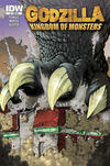 Cover for Godzilla: Kingdom of Monsters (IDW, 2011 series) #1 [Rupp's Comics Cover]