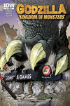 Cover for Godzilla: Kingdom of Monsters (IDW, 2011 series) #1 [Rockin' Rooster Comics Cover]