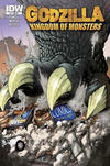 Cover for Godzilla: Kingdom of Monsters (IDW, 2011 series) #1 [Rock Bottom Comics Cover]