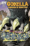 Cover for Godzilla: Kingdom of Monsters (IDW, 2011 series) #1 [Phat Collectibles Cover]