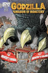Cover for Godzilla: Kingdom of Monsters (IDW, 2011 series) #1 [Newberry Comics Cover]