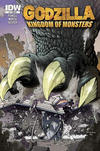 Cover for Godzilla: Kingdom of Monsters (IDW, 2011 series) #1 [Matt's Cavalcade of Comics Cover]
