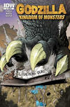 Cover Thumbnail for Godzilla: Kingdom of Monsters (2011 series) #1 [Laughing Ogre Comics Cover]