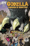 Cover Thumbnail for Godzilla: Kingdom of Monsters (2011 series) #1 [Larry's Wonderful, Wonderful World of Comics Cover]
