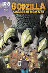 Cover Thumbnail for Godzilla: Kingdom of Monsters (2011 series) #1 [Keith's Comics Cover]