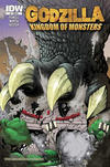 Cover Thumbnail for Godzilla: Kingdom of Monsters (2011 series) #1 [Heroes & Fantasies Cover]