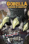 Cover Thumbnail for Godzilla: Kingdom of Monsters (2011 series) #1 [Dreamscape Comics Cover]