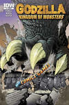 Cover Thumbnail for Godzilla: Kingdom of Monsters (2011 series) #1 [Double Midnight Comics Cover]