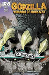 Cover Thumbnail for Godzilla: Kingdom of Monsters (2011 series) #1 [Comickaze Cover]
