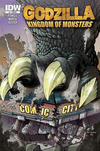 Cover Thumbnail for Godzilla: Kingdom of Monsters (2011 series) #1 [Comic City Cover]