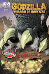 Cover Thumbnail for Godzilla: Kingdom of Monsters (2011 series) #1 [Comic Book University Cover]