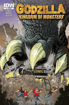 Cover Thumbnail for Godzilla: Kingdom of Monsters (2011 series) #1 [Comic Book Shoppe Cover]